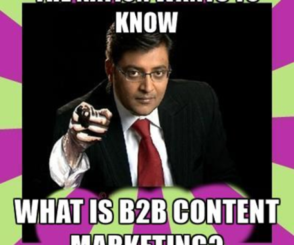 What is B2B Content Marketing