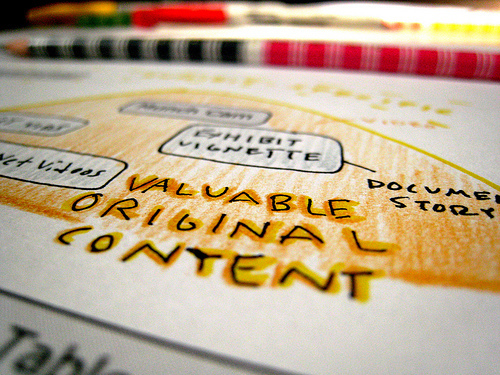 Content solutions / content writing / content marketing?