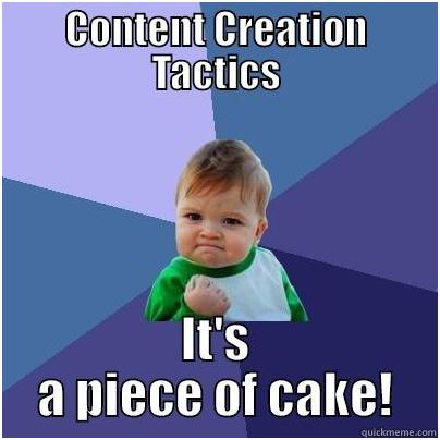 4 types of Content Creation Tactics to Drive more Website Traffic
