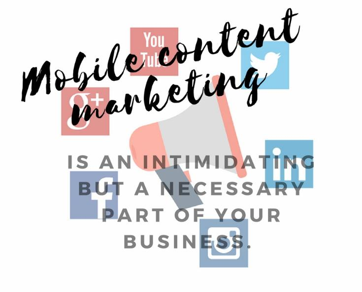 How to create an effective mobile content marketing strategy