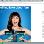 Advertising content by Popchips