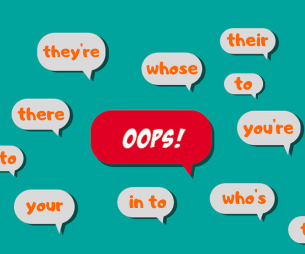 Silly Homophonic Mistakes Writers Make